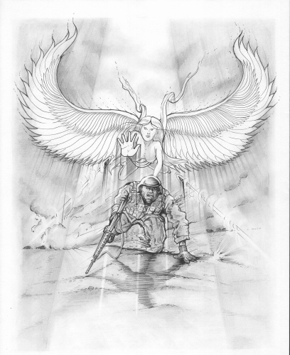 GUARDIAN ANGEL - I have had Marines tell me that they felt like an angel was